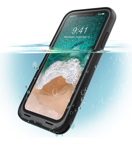 funda iphone x  i-blason máxima protección 360 sumergible