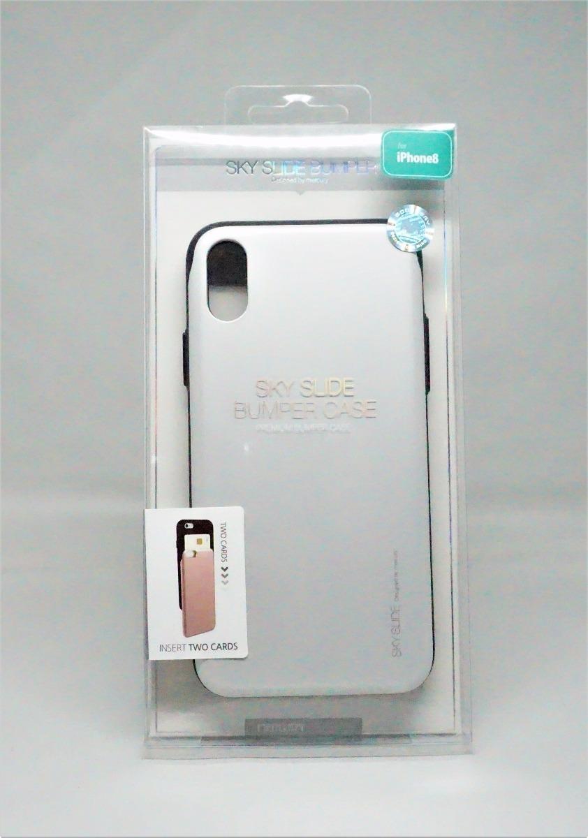Funda Iphone X Mercury Goospery Sky Slide Plata 25900 En 8 Bumper Case Gold Cargando Zoom