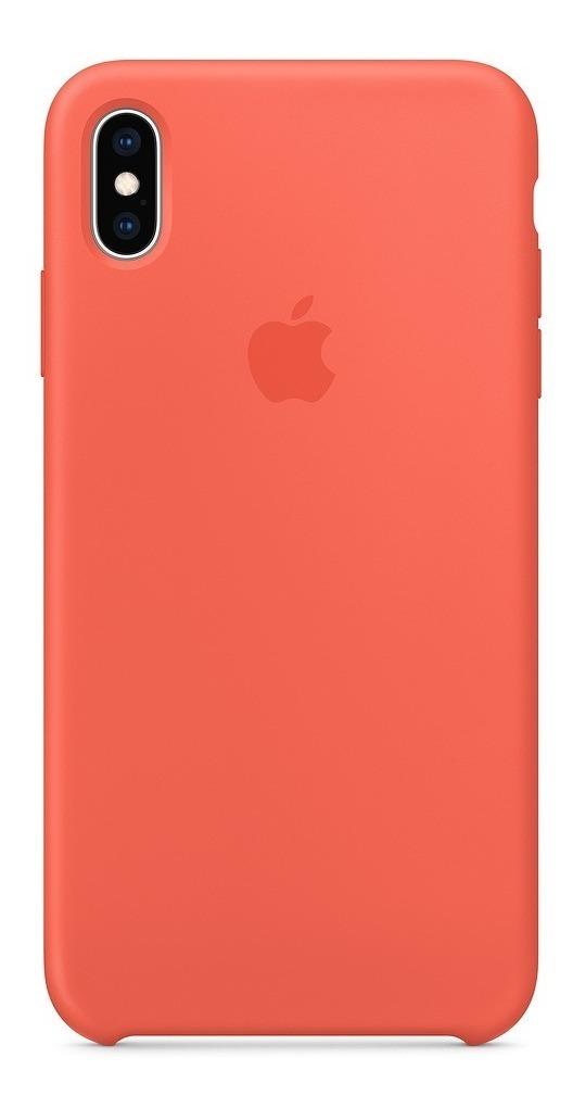 Funda Iphone X Xs Apple Original Silicon Case Colores Varios