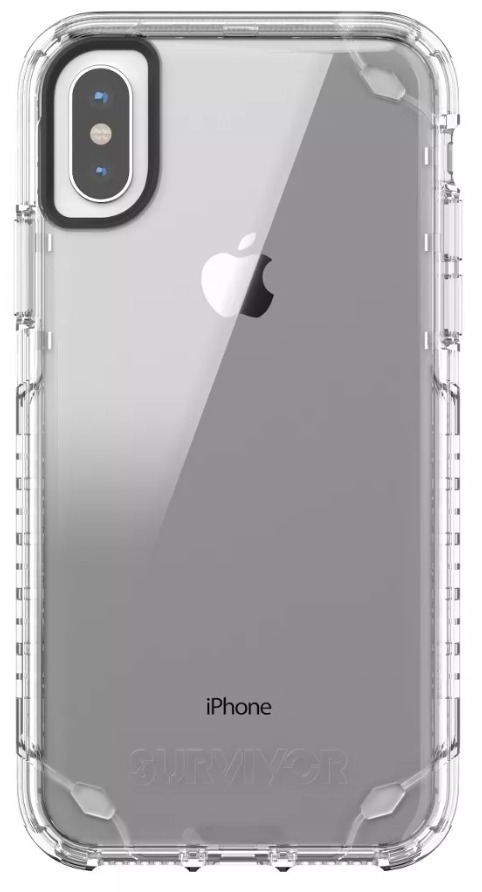96df153c053 Funda iPhone X Survivor Strong Transparente - $ 599.00 en Mercado Libre