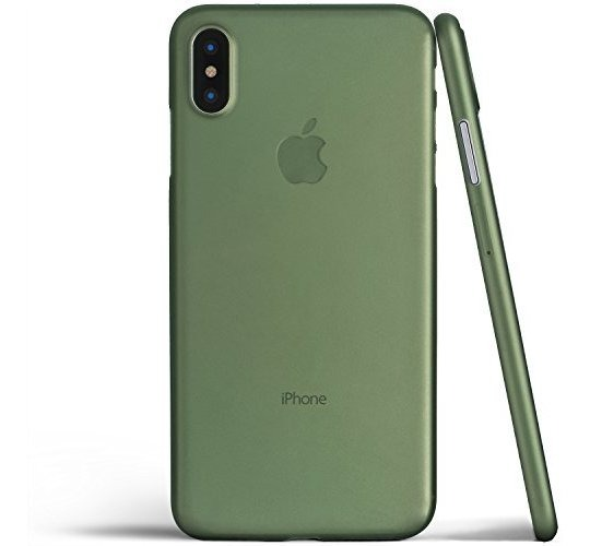 funda iphone x verde