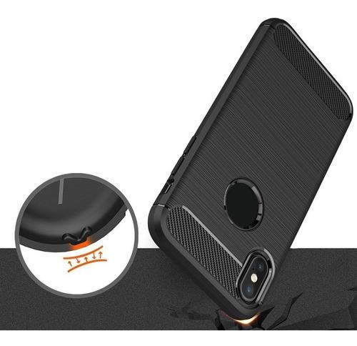 funda iphone x xs xr xs max soft tpu negra shockproof