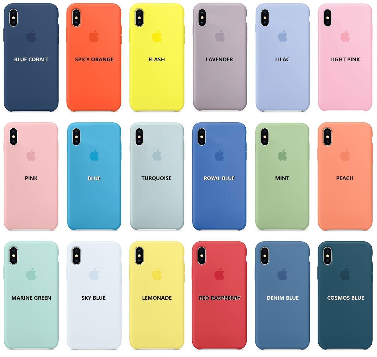 best authentic 35dcc 731e2 Funda iPhone Xr Apple Original Case Silicona Marine Green