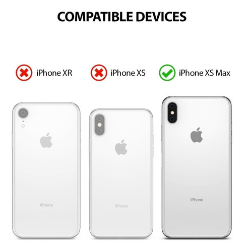 funda iphone xs max, xr &  xs ringke air original