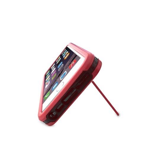 funda kickstand citric iphone 6g plus 5.7  plata