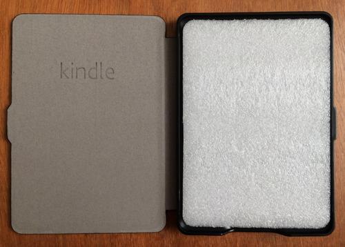 funda kindle paperwhite smart magnética mica y paño gratis