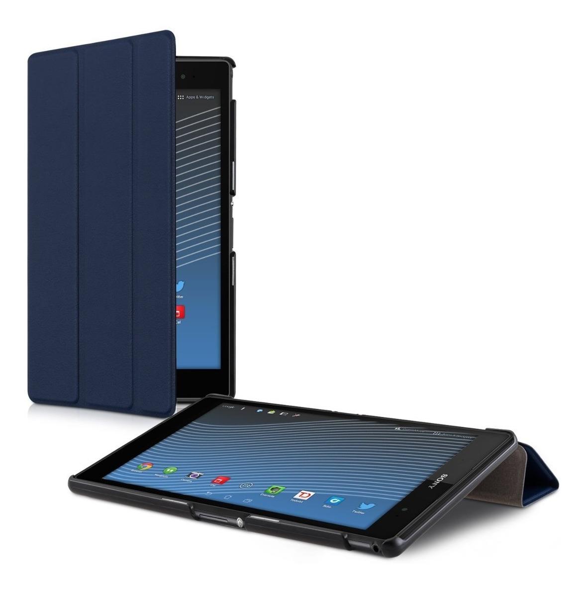 3f1aa60401f funda kwmobile para sony xperia tablet z3 funda de cuero ... Cargando zoom.