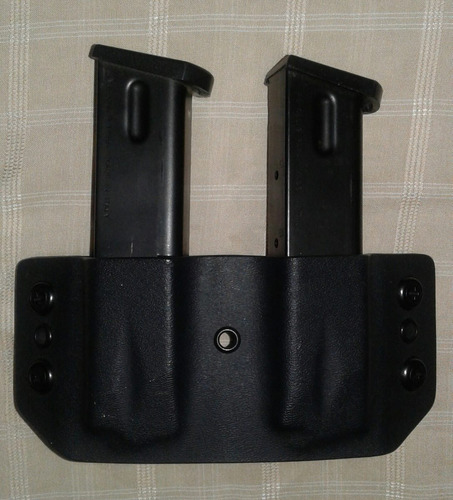 funda kydex porta cargador doble / glock,beretta, tanfoglio