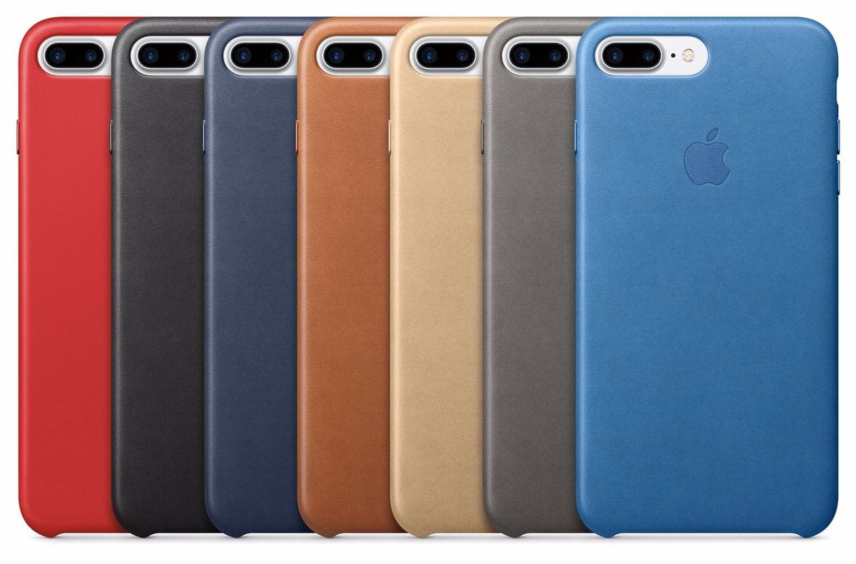 iphone 7 carcasa cuero