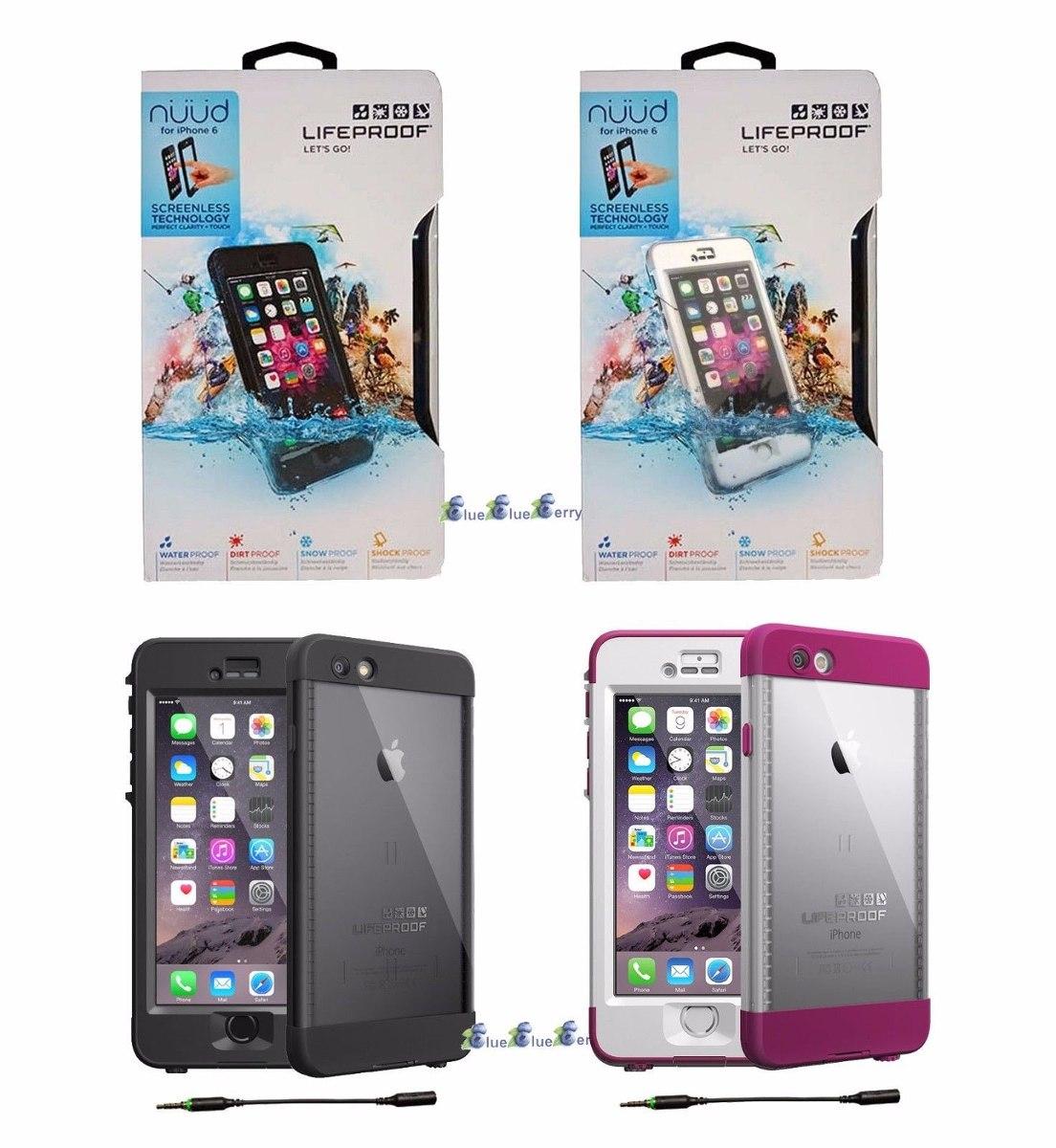 Funda lifeproof nuud 100 sumergible iphone 6 6s la mejor 1 en mercado libre - Fundas lifeproof ...