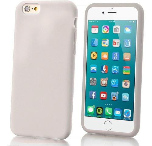 funda lisa de silicona o tpu iphone 6 6s