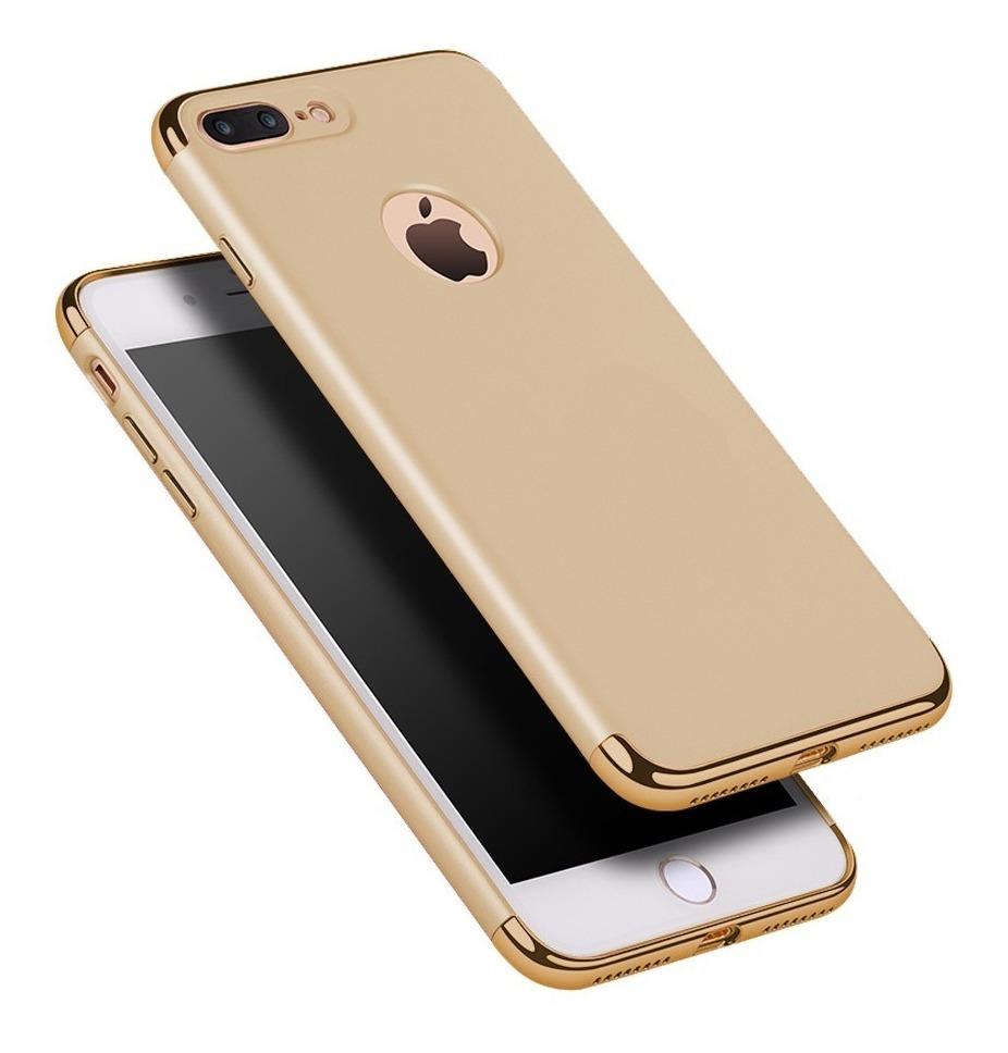 69051f83b37 funda lujo cromo 3 en 1 case iphone 5 5s se 6 6s 7 8 plus. Cargando zoom.