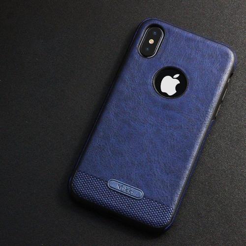 funda lujo piel leather case original iphone 6 7 8 plus x 10