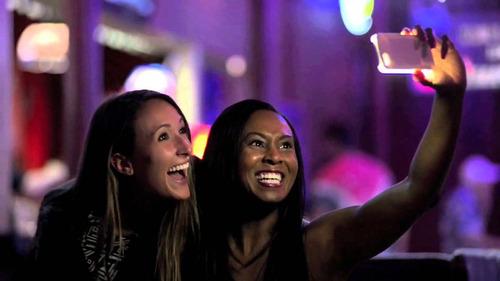 funda lumee iphone 5s  6 6s 7 8 luz led selfies nocturnas