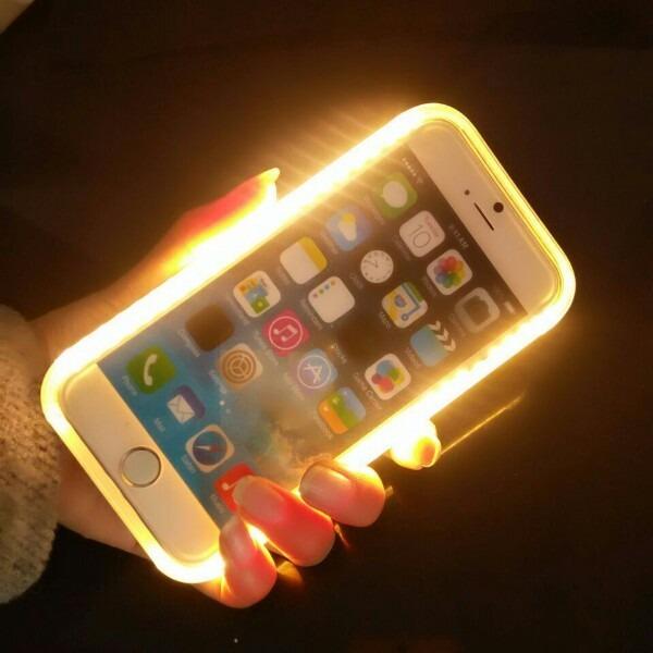 e54a59d897b Funda Lumee iPhone 6 Plus 6s Plus Rosa Y Blanco - $ 149,90 en ...