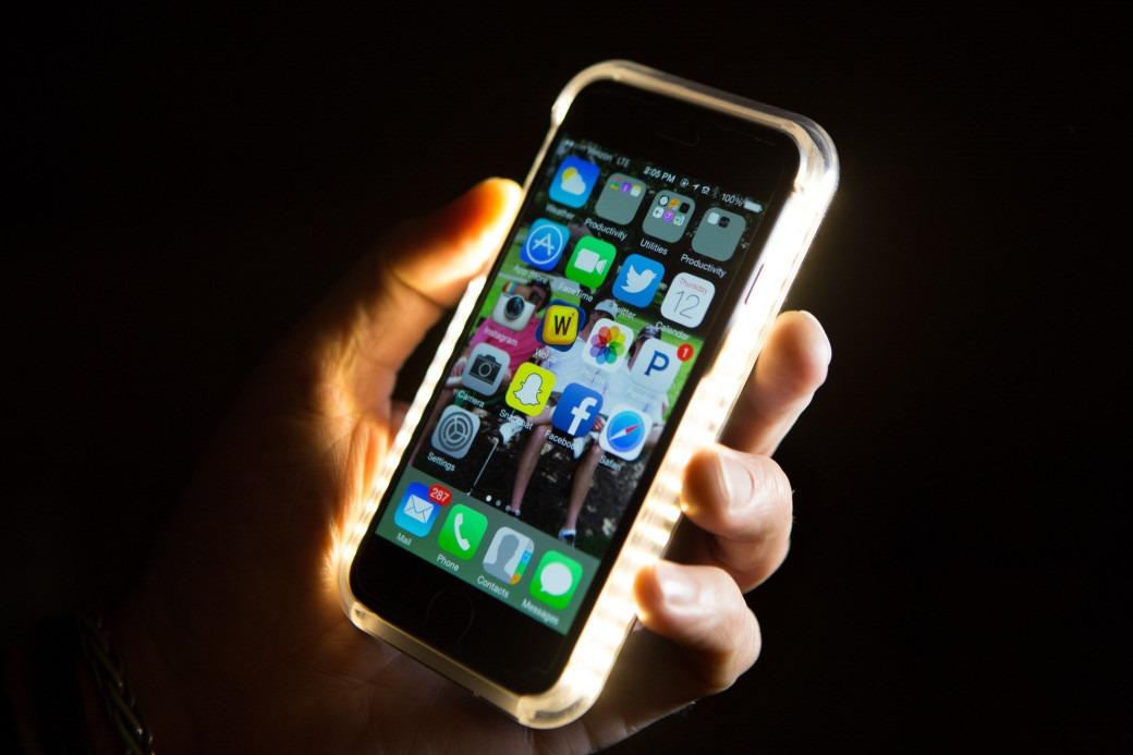 120b4103aab Funda Lumee Samsung S6 Edge Luz Led Para Selfies Nocturnas - $ 399 ...