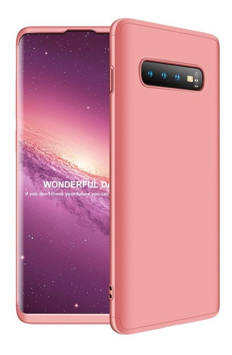 funda luxury 3 en 1 rigida samsung s10 plus lite + nano film