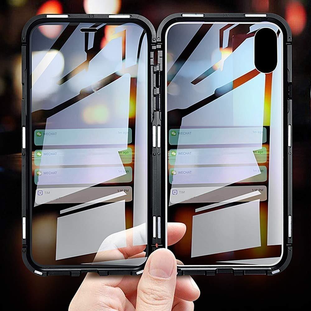 342fa11c859 Funda Magnetica 360 iPhone 7 8 Plus Xr Xs Max Protector Iman ...