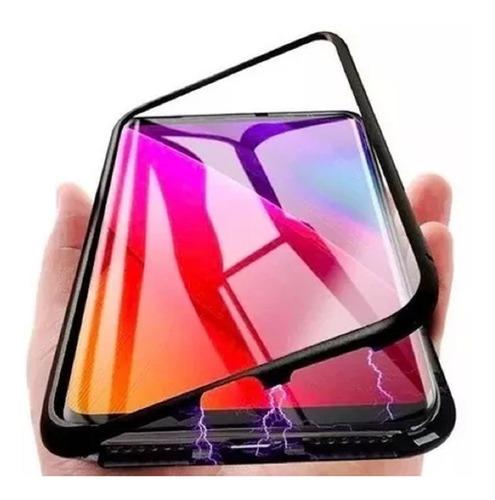 funda magnetica samsung + vidrio templado el combo perfecto