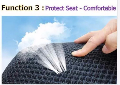 funda malla mesh doble asiento rs,as,ns, fz2.0  más