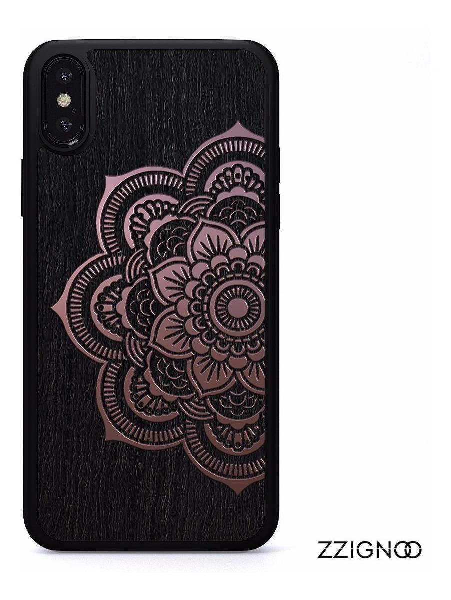 7ee88151ef8 Funda Mandala Madera Con Aluminio Oro iPhone 6,7,8,x,plus - $ 499.00 ...