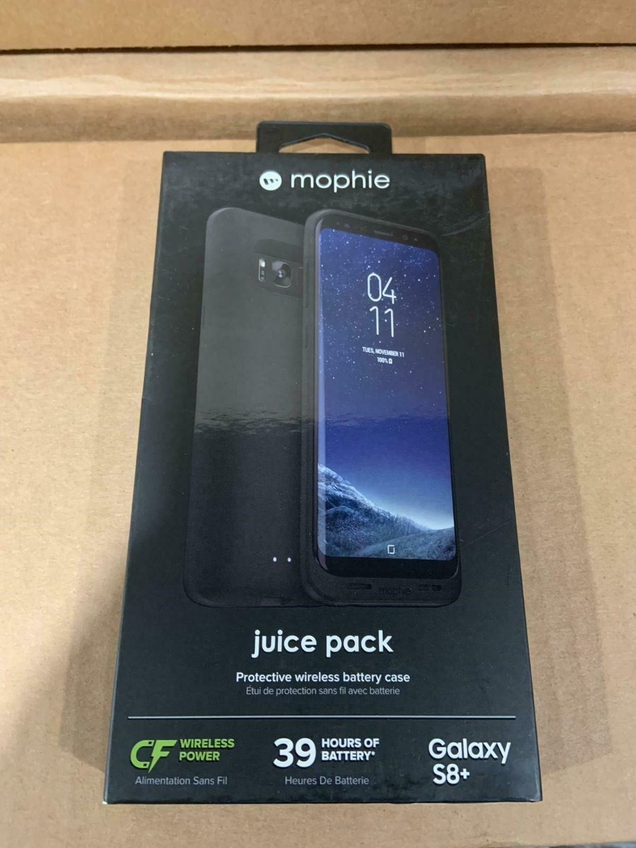 cheap for discount 46327 9cfbf Funda Mophie Juice Pack Samsung Galaxy S8 Plus 3300mah