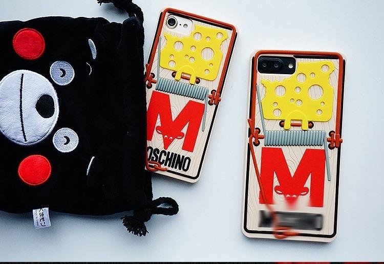 906291c7ae6 Funda Moschino Trampa Raton iPhone 5 5c Se 5s 6 6s Plus 7 8 ...