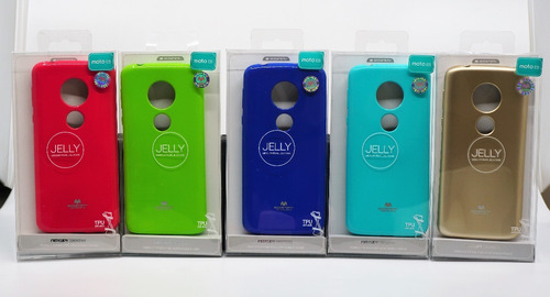 funda moto e5 mercury goospery jelly case