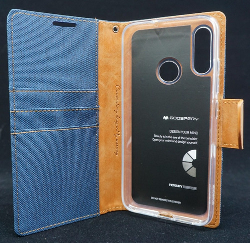 funda moto e6 plus mercury goospery canvas diary