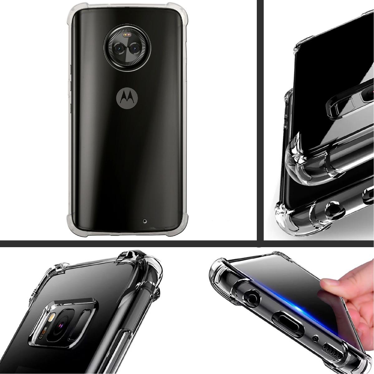 3153707c3ae Funda Moto G6 Plus Protector Uso Rudo Tpu Transparente - $ 129.00 en ...