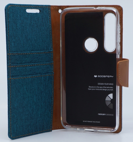 funda moto g8 play mercury goospery canvas diary
