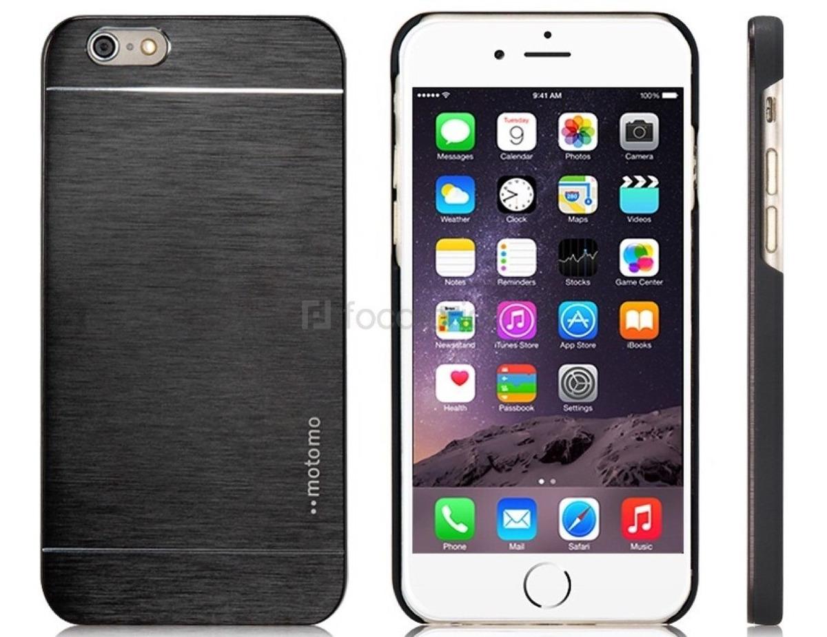 1408e5f30ec funda motomo carcasa aluminio para iphone 6 +vidrio templado. Cargando zoom.