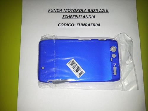 funda motorola razr azul funrazr04