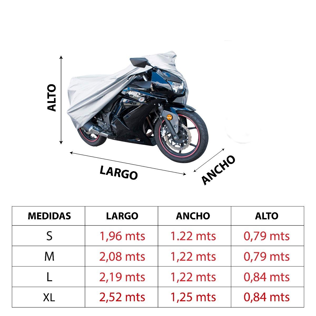 b5ffe4df2e7 Funda Motos - Medida Xl - $ 1.307,00 en Mercado Libre