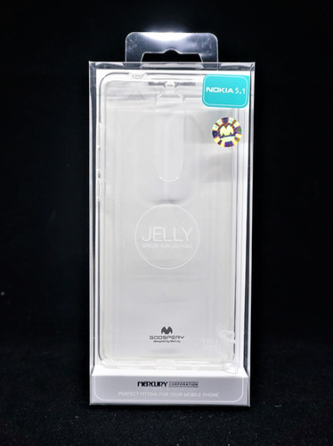 funda nokia 5.1 mercury goospery tansparente jelly