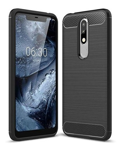 funda nokia 5.1 plus + templado real - kit - primera calidad