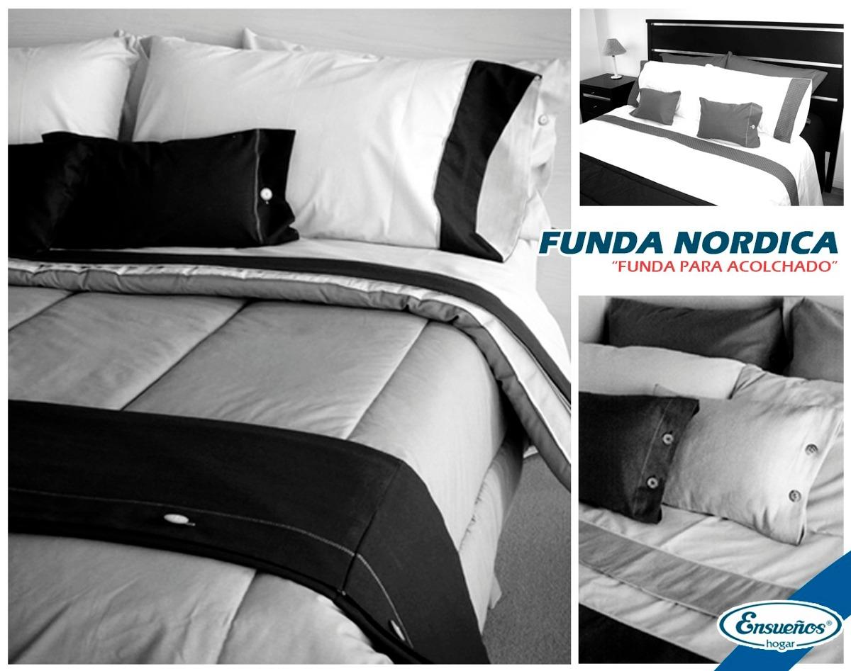 Funda Nordica / Funda Para Acolchado 2 1/2 Plaza Queen Size