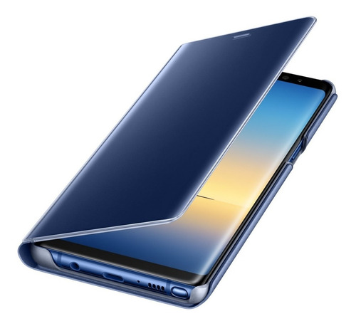 funda note 8 original clear view flip cover samsung galaxy note 8