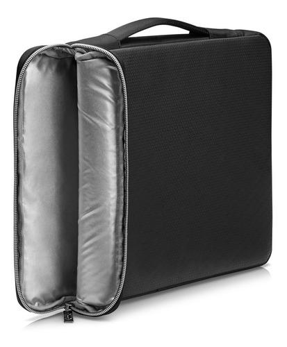 funda notebook hp carry negro, plata 14