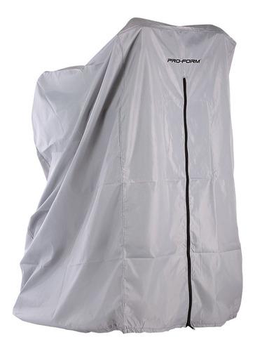 funda o cubierta gris plata  para caminadora proform
