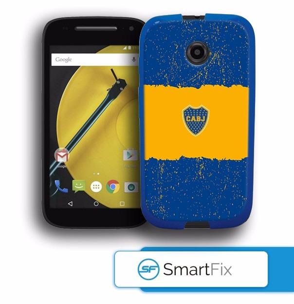 e7f3451a059 Funda Oficial Boca Juniors Motorola Moto E - $ 250,00 en Mercado Libre
