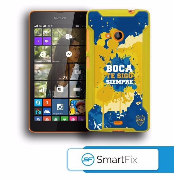 4f3c8df7a30 Funda Oficial Boca Juniors Nokia Lumia 535 - $ 250,00 en Mercado Libre