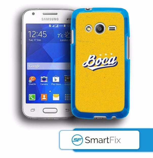 f6dfbb0437a Funda Oficial Boca Juniors Samsung Ace 4 - $ 250,00 en Mercado Libre