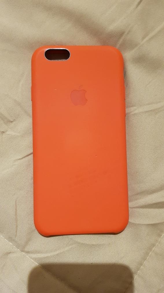 3e4ef7f6e10 funda original apple iphone 6 6s naranja, y amarilla regalo. Cargando zoom.