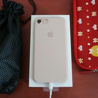 funda original apple silicone case iphone 7 iphone 8(4.7)