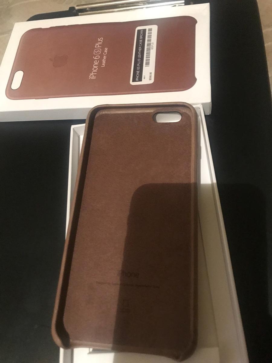 1f67e3be0ac Funda Original Piel Marrón Para iPhone 6s Plus Nueva - $ 600.00 en ...