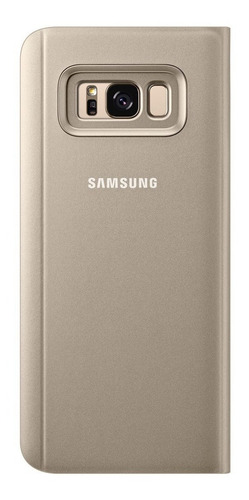 funda original s8 samsung clear view flip cover galaxy