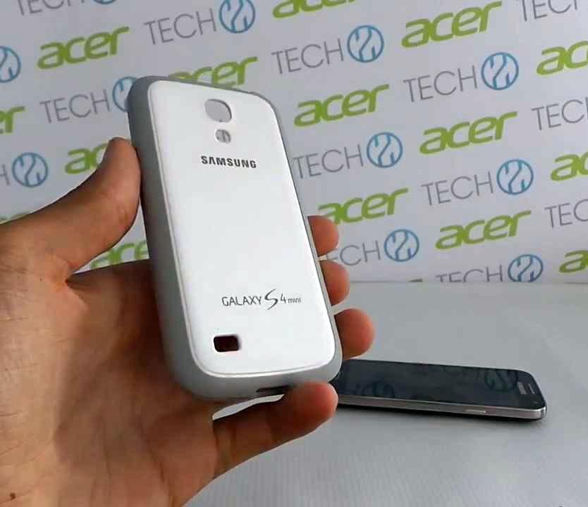 d430ba7fa28 Funda Original Samsung S4 Mini Blanca - $ 200,00 en Mercado Libre