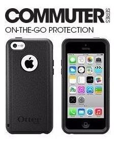 funda otterbox commuter iphone 5c + film