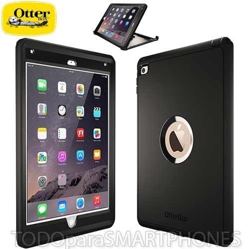 reputable site 4793d b1e31 Funda Otterbox iPad Air 2 Defender Negra Uso Rudo
